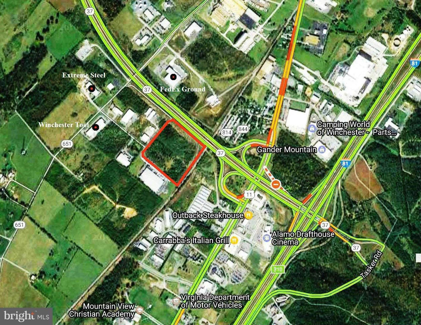 Land for Sale at INDUSTRIAL Drive Winchester, Virginia 22602 United States
