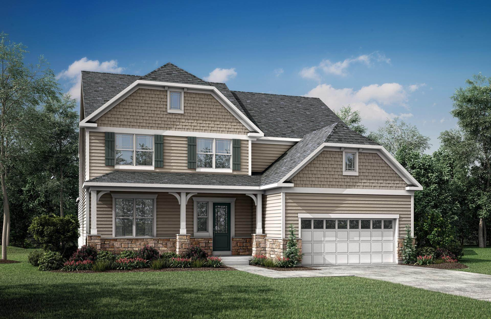 Single Family for Sale at Tallyn Ridge Estates - Rowan 8395 Pine Bluff Road FREDERICK, MARYLAND 21704 UNITED STATES