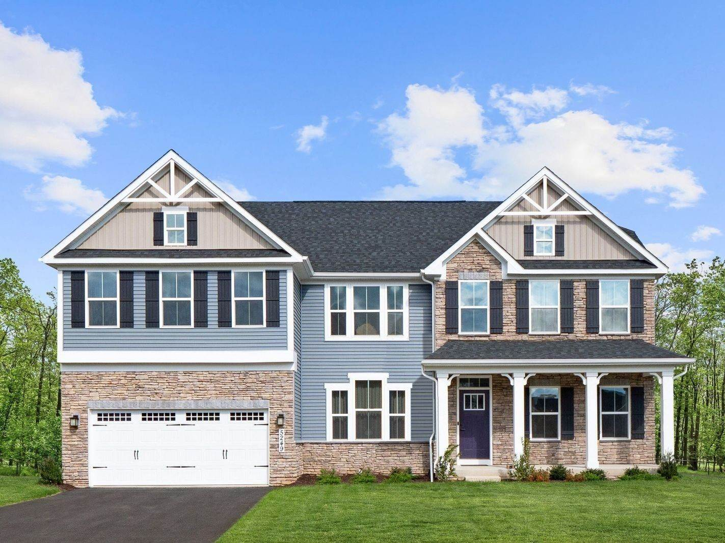 Single Family for Sale at Harvest Ridge - Corsica 13507 Primavera Drive Mount Airy, Maryland 21771 United States