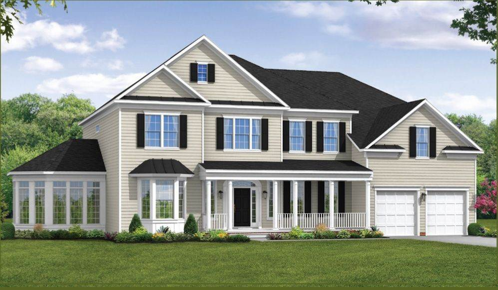 Single Family for Sale at The Woodlands - Rutledge 5620 Dosa Court Clarksville, Maryland 21029 United States