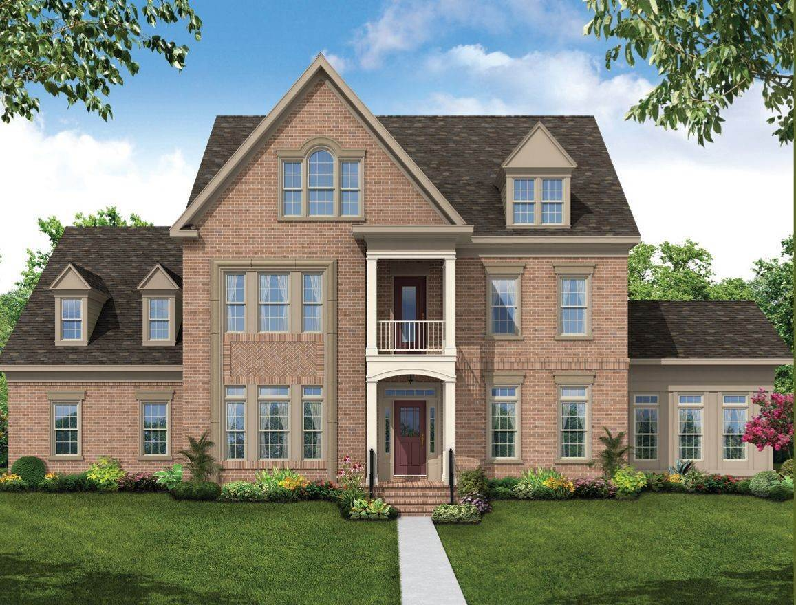 Single Family for Sale at The Woodlands - Georgetown Ii 5620 Dosa Court Clarksville, Maryland 21029 United States