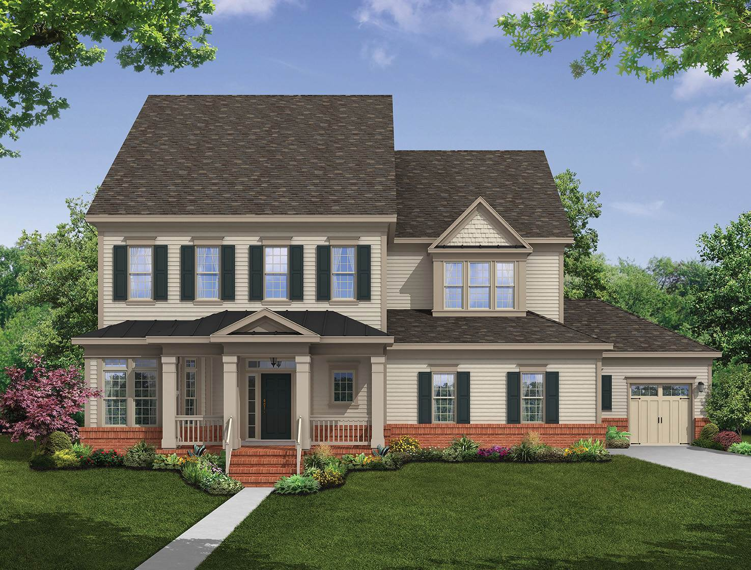 Single Family for Sale at The Woodlands - Hawthorne Ii 5620 Dosa Court Clarksville, Maryland 21029 United States