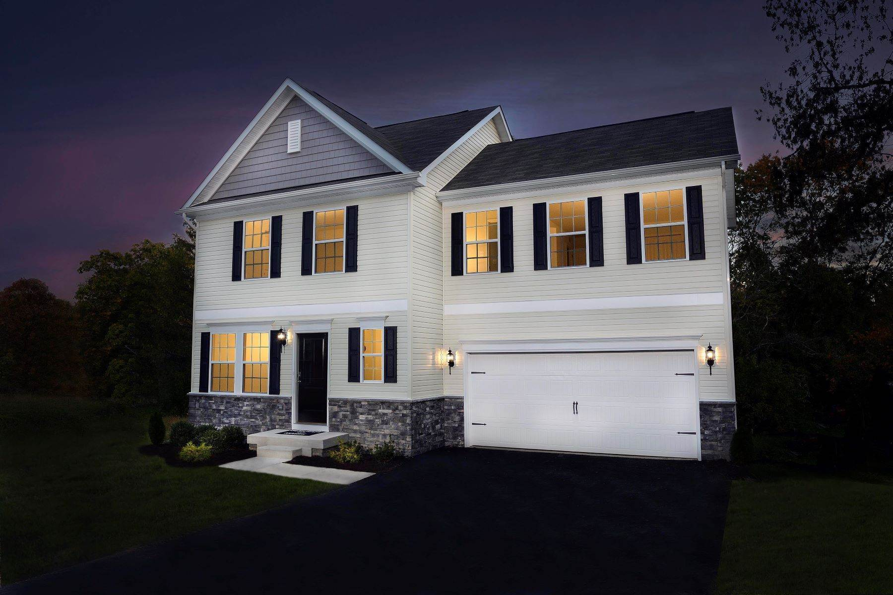 Single Family Homes for Sale at The Pearl Colonial in Captain's Cove Lot 520 Dingy Court Greenbackville, Virginia 23356 United States