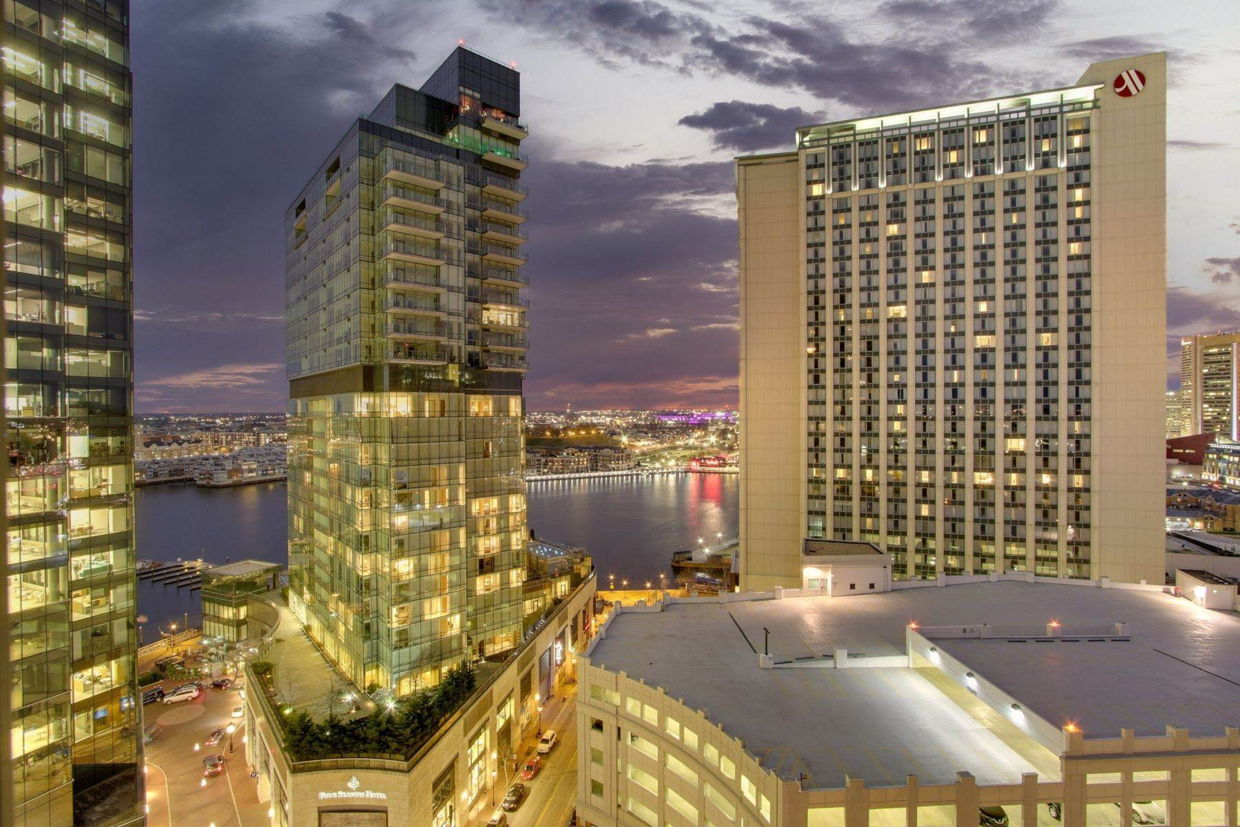 Apartments for Sale at Harbor East Condominium 675 President Street #1602 Baltimore, Maryland 21202 United States