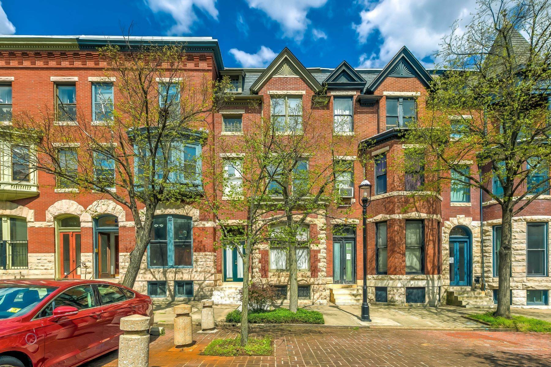 townhouses for Sale at Bolton Hills Townhome 1725 Linden Avenue Baltimore, Maryland 21217 United States