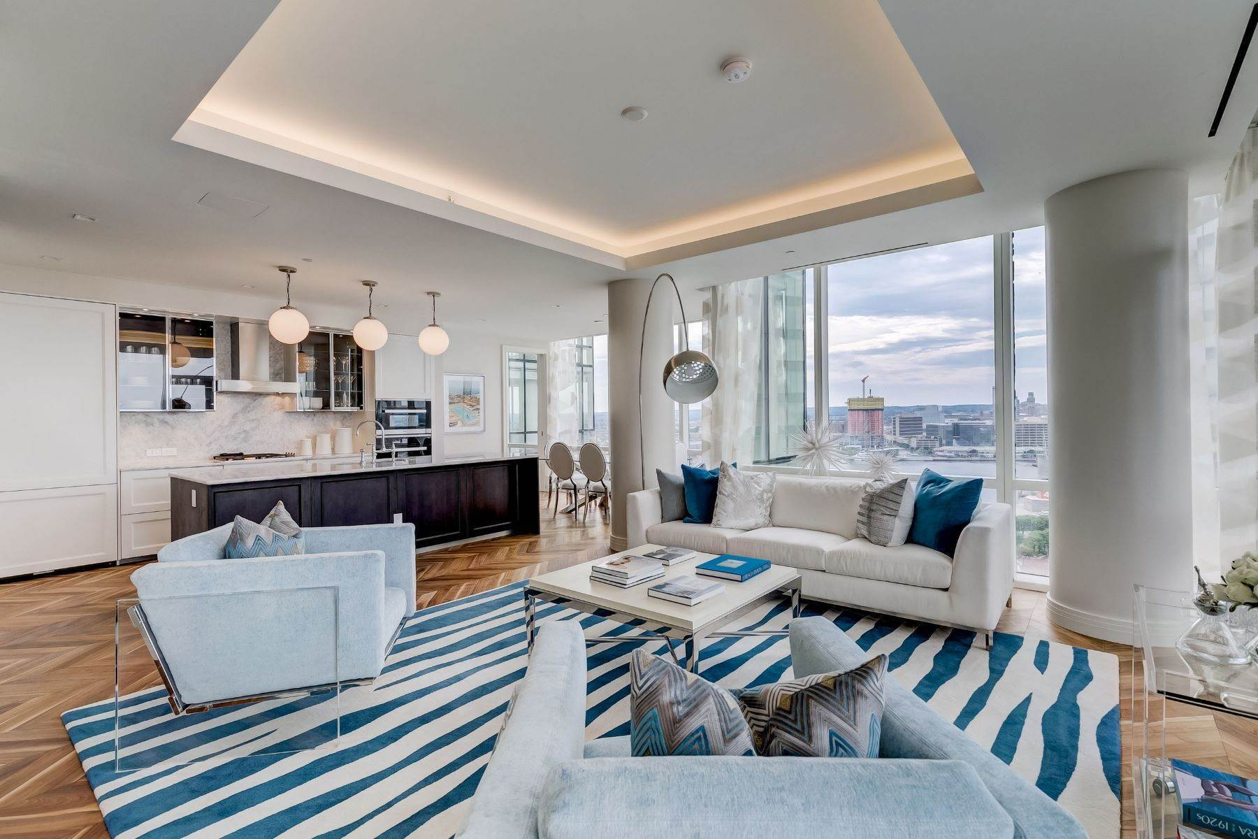 Apartments for Sale at Four Seasons Residences of Baltimore 300 International Drive #2403R Baltimore, Maryland 21202 United States