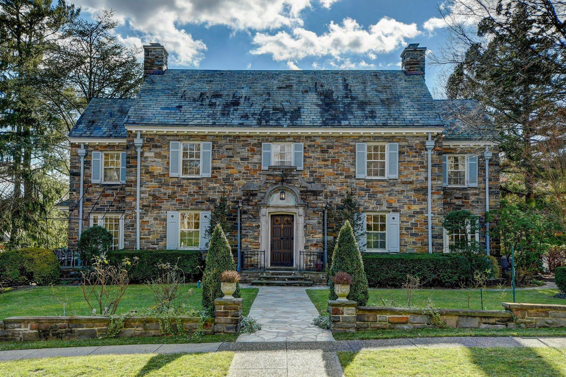 Single Family Homes for Sale at Roland Park Georgian 405 Overhill Road Baltimore, Maryland 21210 United States
