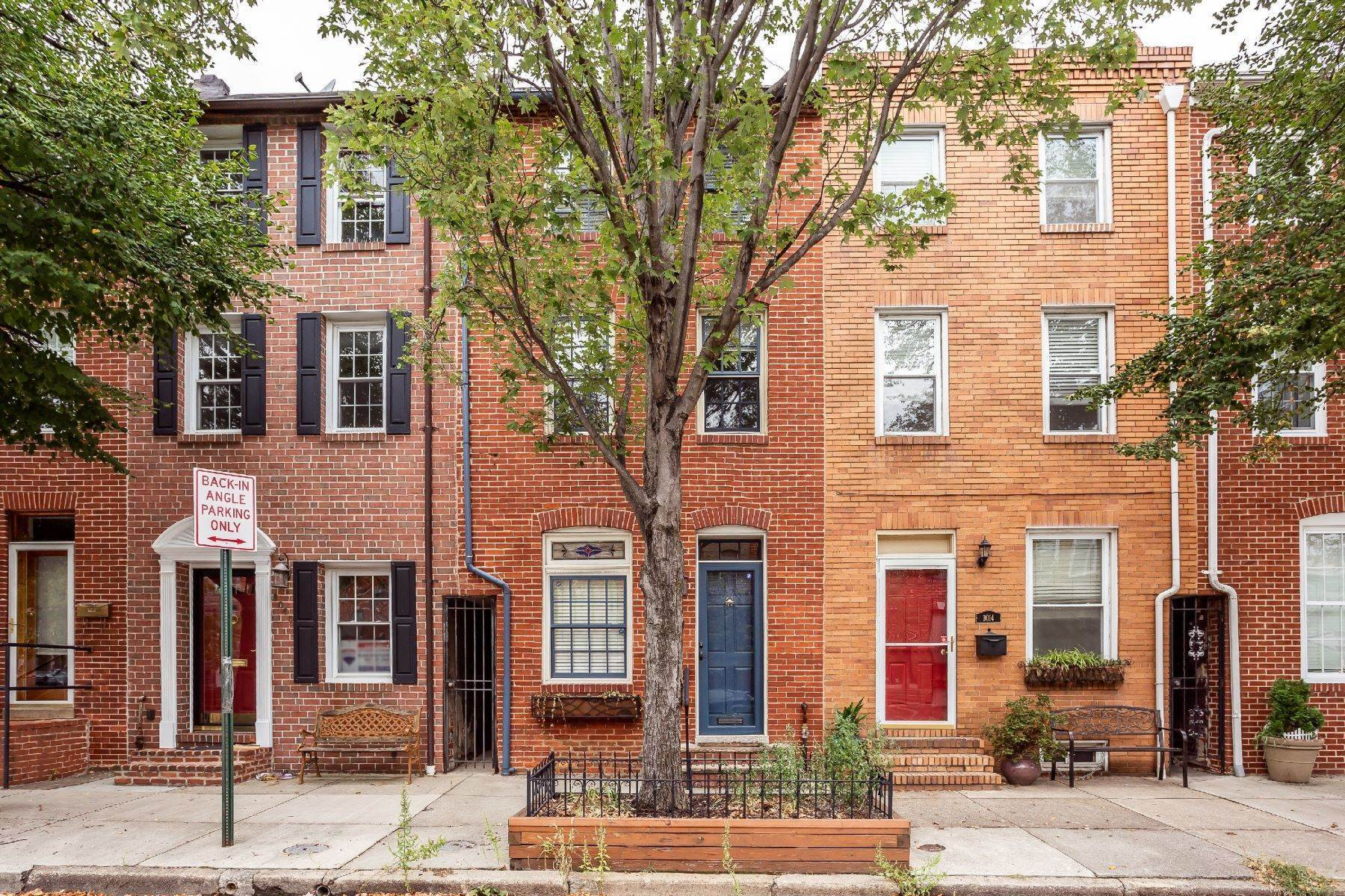 Single Family Homes at Canton Townhouse for Lease 3012 Elliott Street Baltimore, Maryland 21224 United States